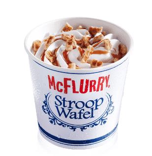 Image result for stroopwafel mcflurry