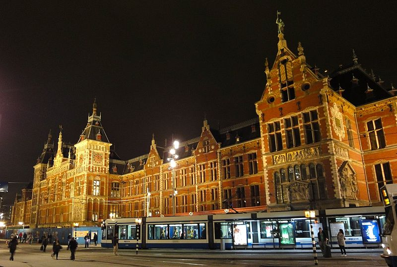 Amsterdam - Central Station by Night