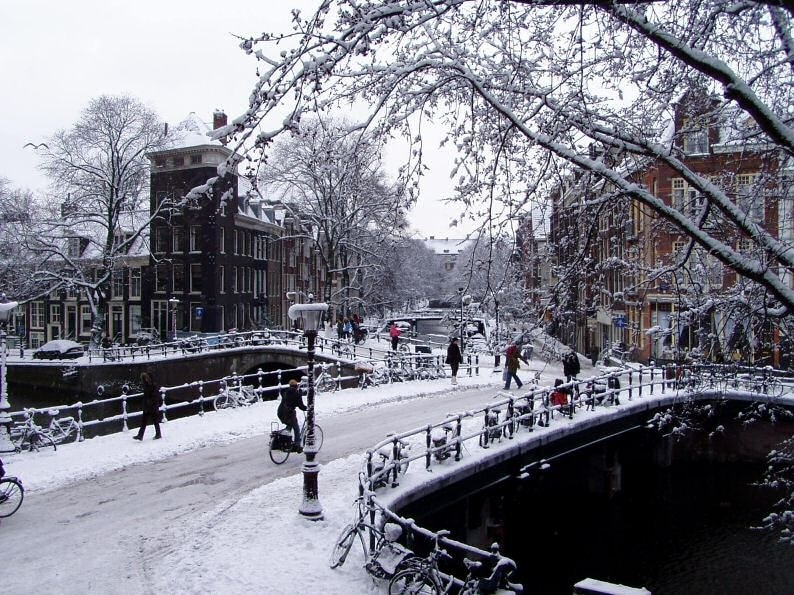 Amsterdam In Winter Netherlands Tourism