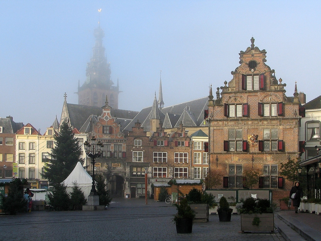 Nijmegen - Beautiful and misty