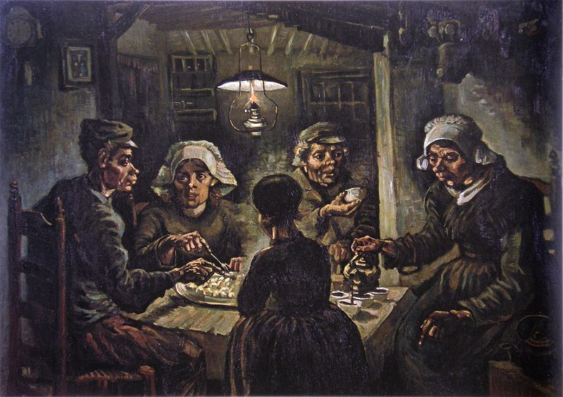 The Patato Eaters - Vincent van Gogh
