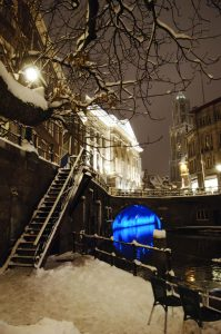 Trajectum Lumen cityhall bridge winter 2 - Anne Hamers - Toerisme Utrecht