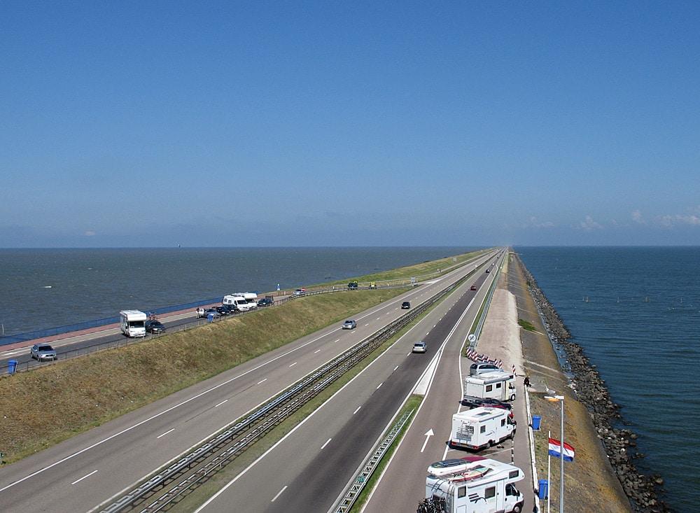 Afsluitdijk in the Netherlands