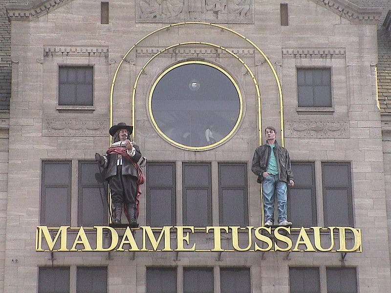 madame tussauds amsterdam address
