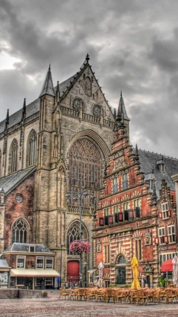 """Grote Markt"" - City square Haarlem"