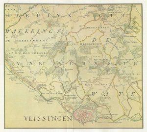 Vlissingen in 1750