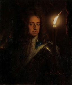 Portrait of Willem III