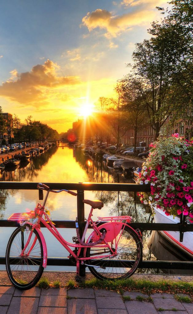 Amsterdam - A Romantic sunrise