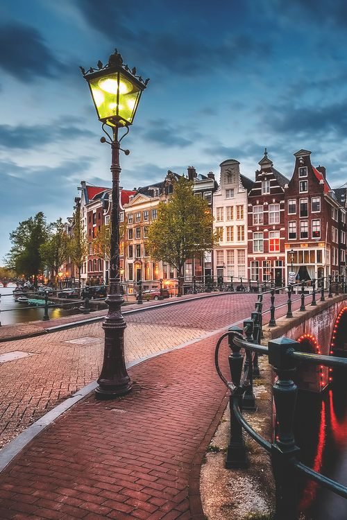 Amsterdam - Beautiful lantarn