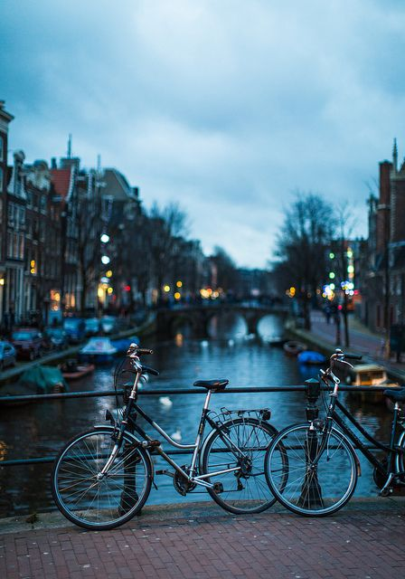 Amsterdam - Bikes and Canal