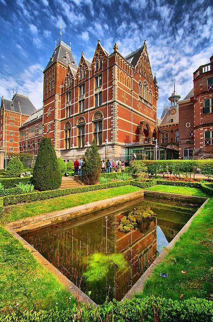 Amsterdam - Garden of the Rijksmuseum