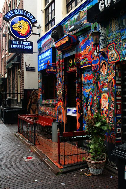 Amsterdam - The First Coffeeshop