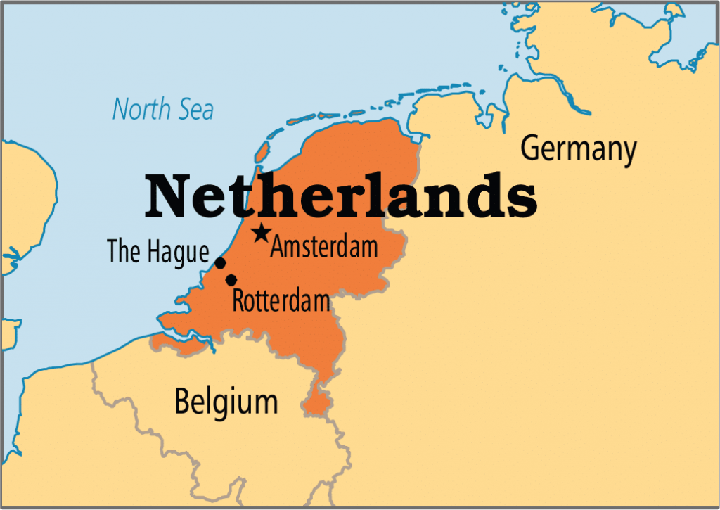 Netherland amateur call areas